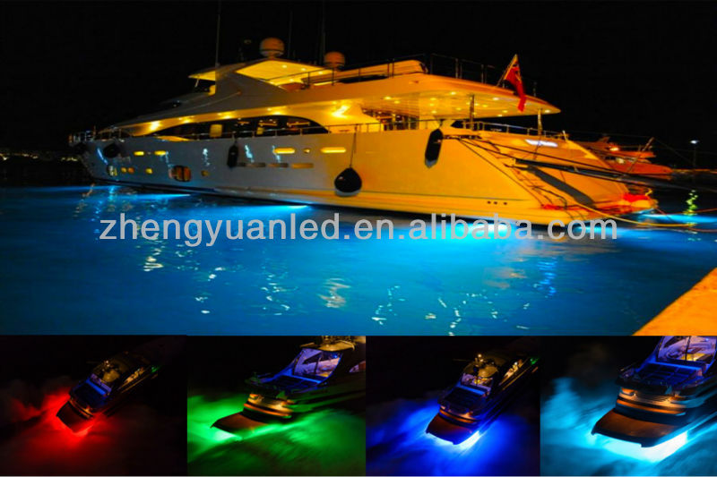 18W RGB boat led light ip68 waterproof underwater boat led lights