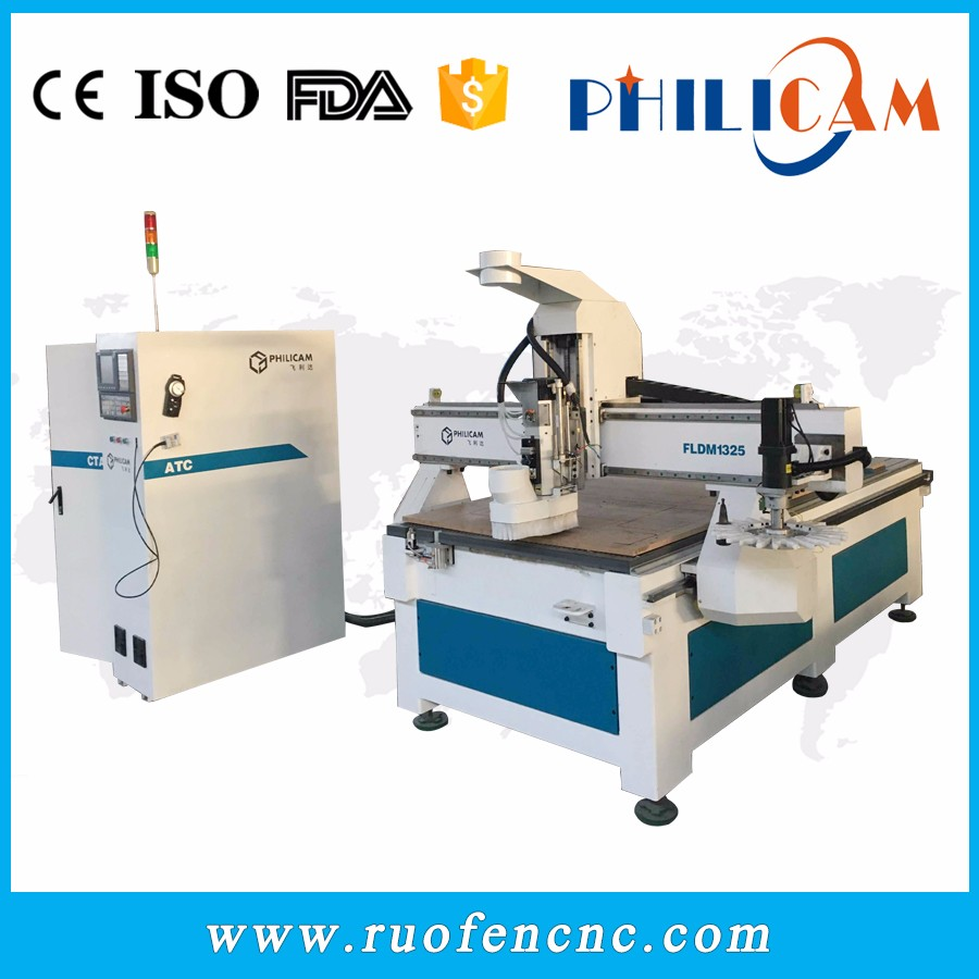 Philicam 3d engraving cnc router woodworking machine price 1325
