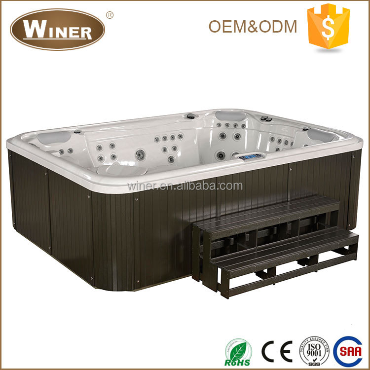 Winer 2016 European Balboa System and Aristech Acrylic Outdoor 7 person hot tub
