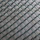 diamond wire mesh PVC Coated Chain Link Fence