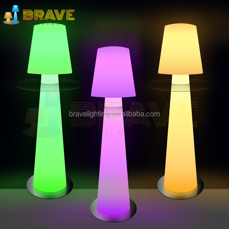 Bed Light Hotel decorative floor standing modern Artistic Dinning Room LED Lighting Lamp