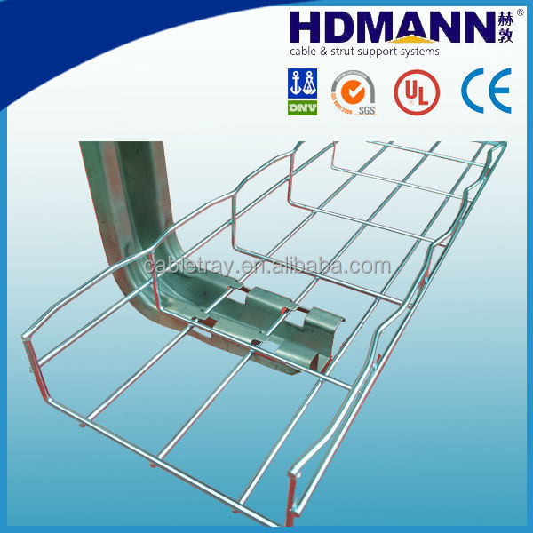 Pre-galvanized Steel Wire Mesh Cable Tray/basket Cable Tray - Buy ...