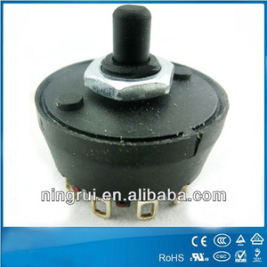 120V/240V electronic rotary switches