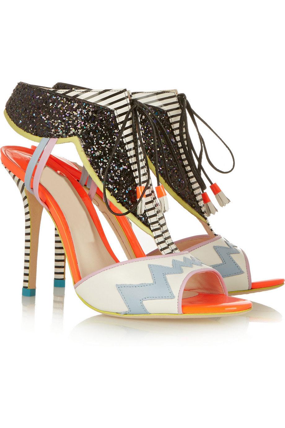 e94e67545b4 Buy New Bling Dress Shoes Sandale Femme Peep Toe Black White Print Heels  Shoes Woman Sandals 2015 Brand in Cheap Price on Alibaba.com