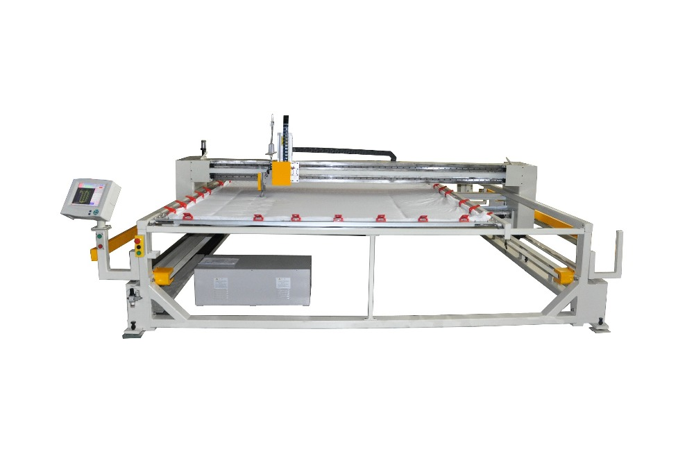 Computerized single head quilting machine based on frame Richpeace