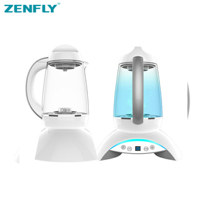 ZENFLY rtable hydrogen electrolyzer water Canada,BPA free eco-friendly plastic water pitcher with filter activated carbon H3