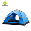 2019 Top Selling Lightweight Double Layer 3 Season Outdoor Windproof Beach Tent Pop Up Waterproof Camping Tent