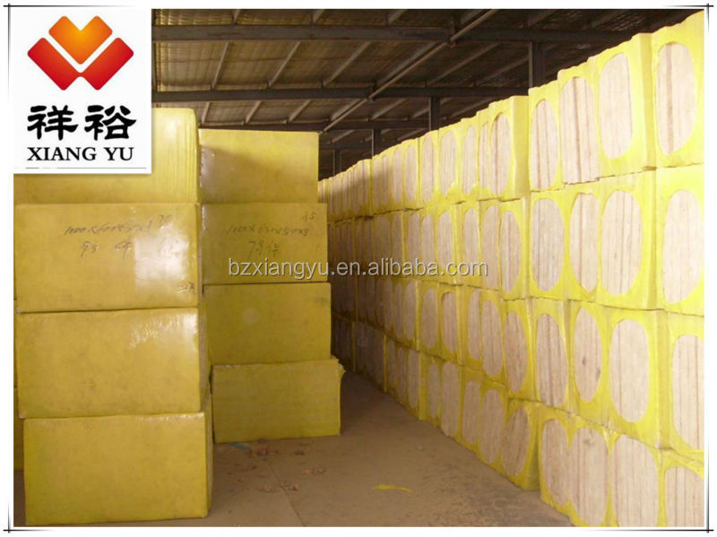 Chinese manufacturer - rock wool board used for external wall insulation