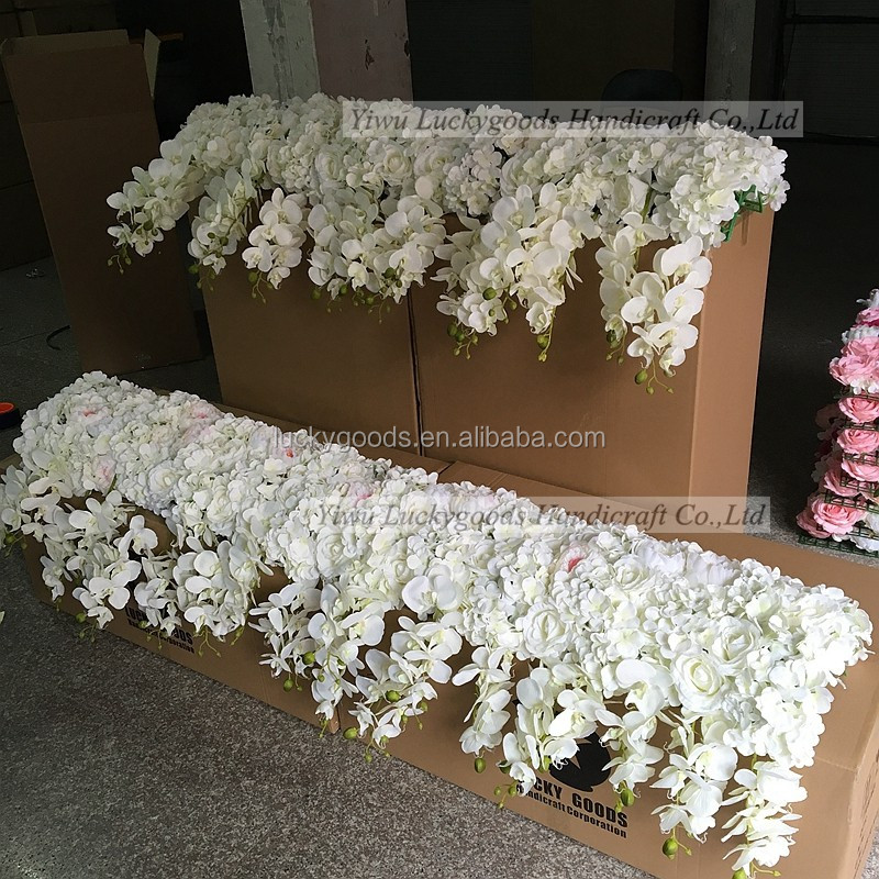 Wedding Arches For Sale: Factory Sale Round Shape Rose And Hydrangea White Wedding