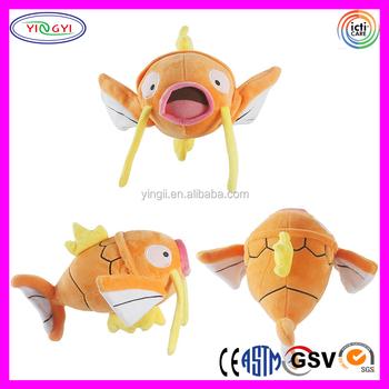 Kartun Plush Ikan Mas Ikan Mainan Mewah Kartun Anime Figuresmainan