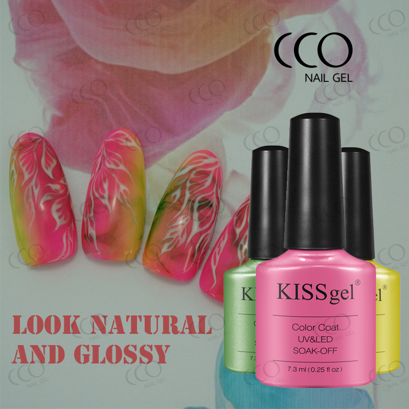 Cco Kiss Gel Nails High Quality Easy Soak Off Top Coat Nail Polish ...