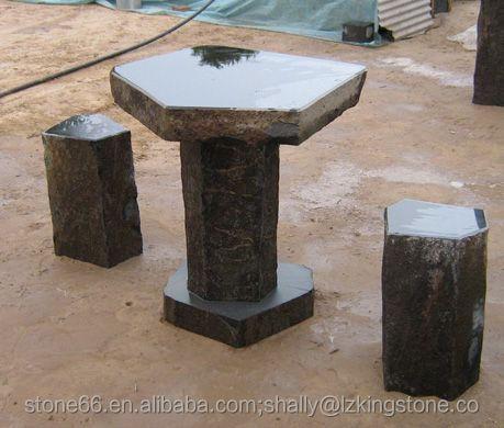 granite garden stool / tablebeautiful nature stone table and chairs & Granite Garden Stool / TableBeautiful Nature Stone Table And ... islam-shia.org
