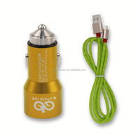 mini car battery charger for cellphone/smartphones in car charging