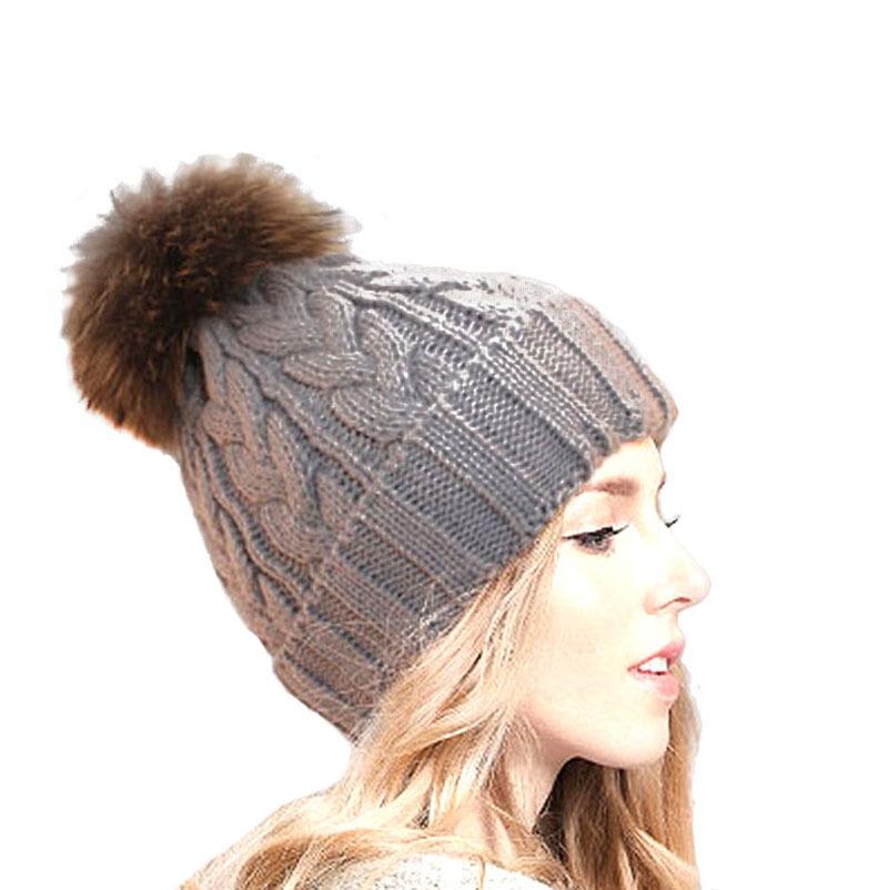 9c43a29657a Buy 2015 Fashion Winter Women Beanie Solid Color Unisex Knitted Cap Winter  Hat Warm Skullies Woolen Cap Touca Gorro Beanies Women in Cheap Price on ...