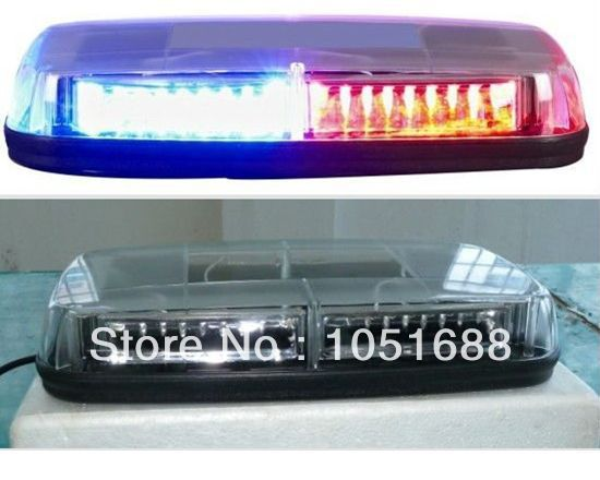 Соединенные безопасный низкая профиль GEN III 1 вт супер яркость из светодиодов mini лёгкие бар ( янтарь / синий / красный / белый )