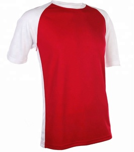 Oem Fashion Polyester Raglan Tshirts Blank Cut And Sew Man T-Shirts