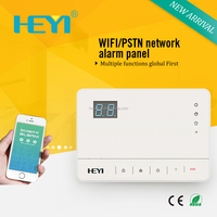 Contemporary new coming wireless home alarm systems review with Contact ID protocol
