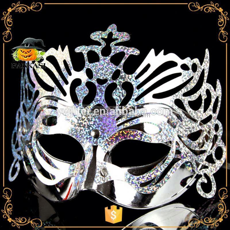 Multi Color Crown Princess Masquerade Masks For Party Decoration