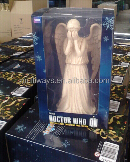 Plastic Weeping Angel Tree Topper Christmas Holidays Gifts Figures ...
