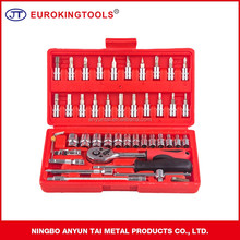 46PCS socket wrench set hand tools set
