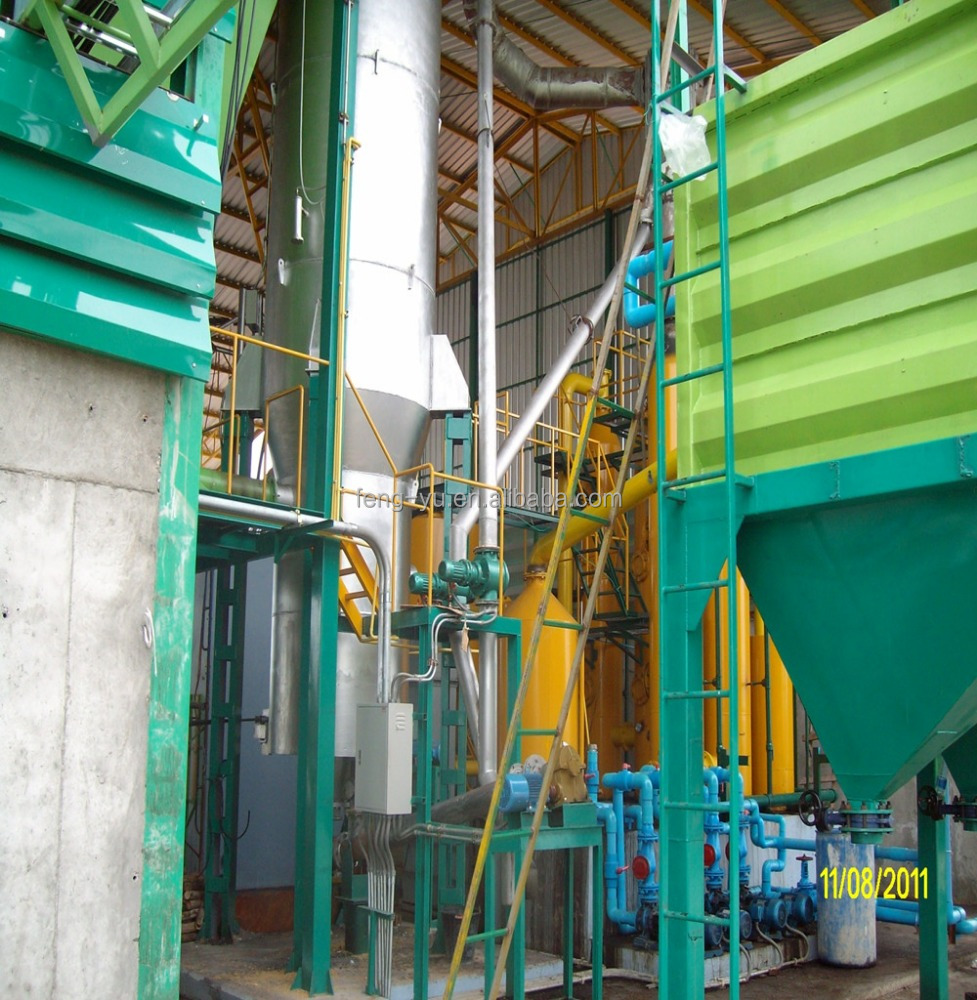200KW wood chip rice husk biomass gasifier equipment gasification power generation power plant in smooth operation in Thailand