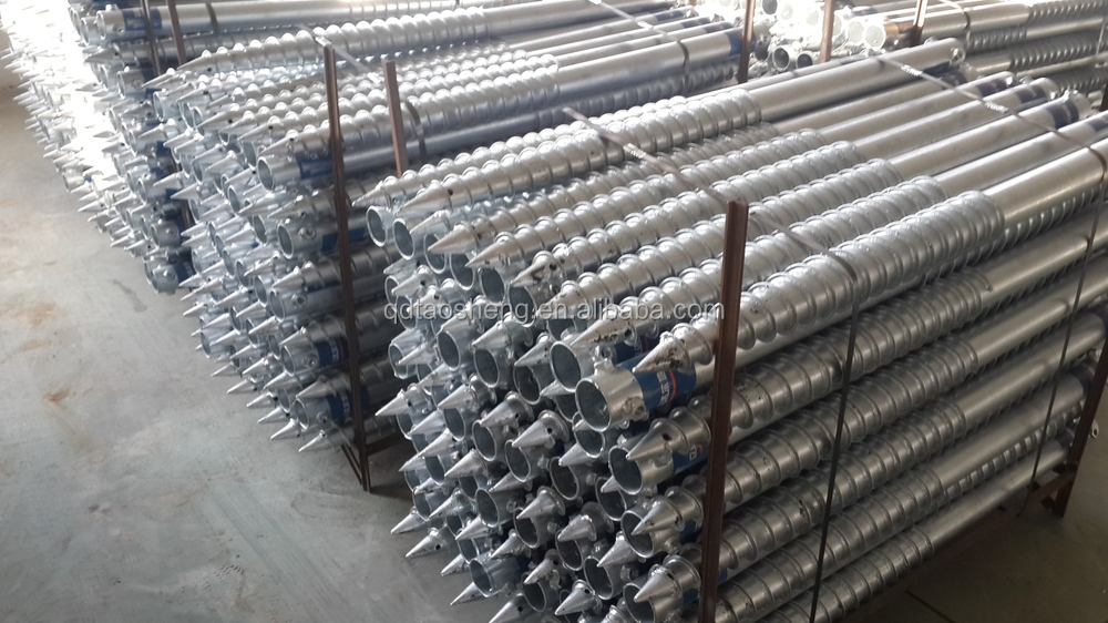 Hot Dip Galvanized Steel Earth Screw Anchor