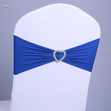 Wedding lycra chair sashes spandex sash for banquet chair