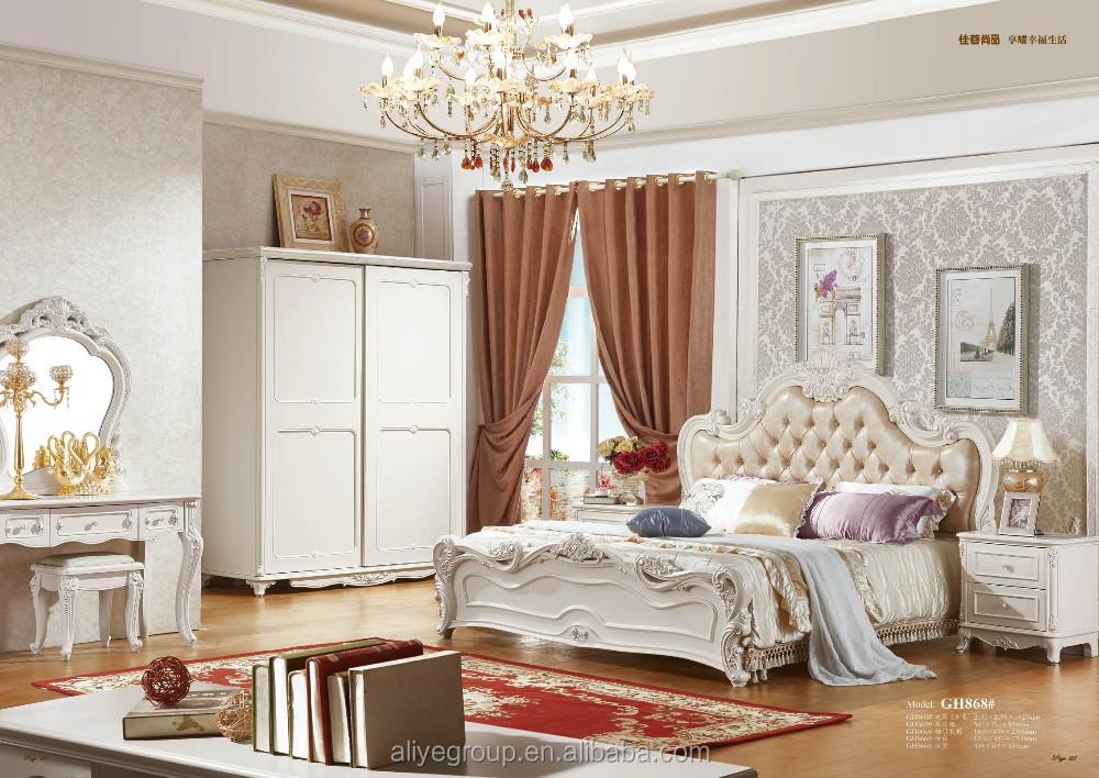 Camere Da Letto Stile Francese : Top vendita moderno stile francese perla colore camera da