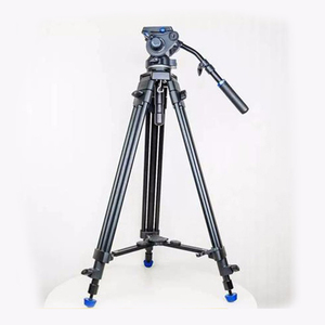 Professional BENRO BV6S aluminum photography flexible fluid head studio video camera tripod for video camera