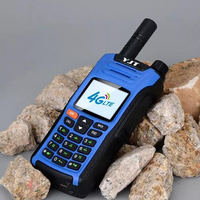 2G 3G 4G GSM WCDMA LTE Walkie Talkie with Sim Card Phone 50km 100km 100 km Range Radio
