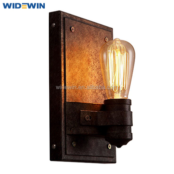 Rustic Wall Lamp Light Fixtures Vintage