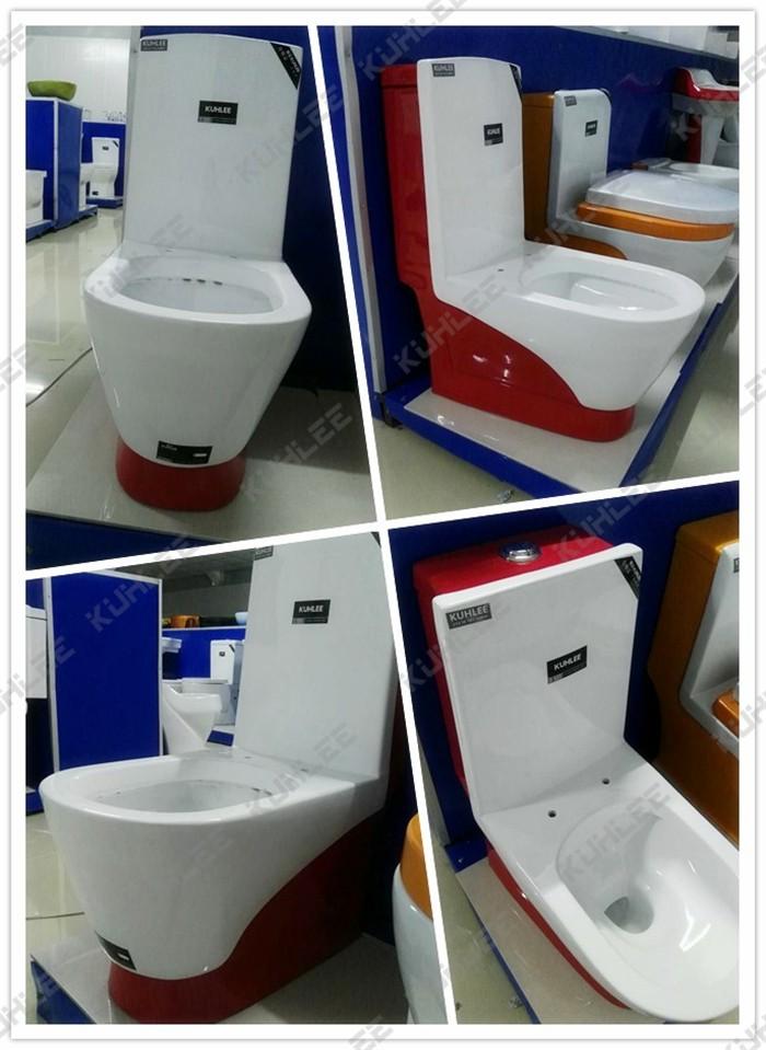 Kl1009 3 Sanitary Ware Ceramic Green Colored Toilet Buy
