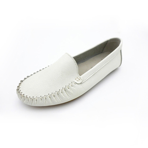 Women Mark Thread Soft Materials Flat Loafer Shoes