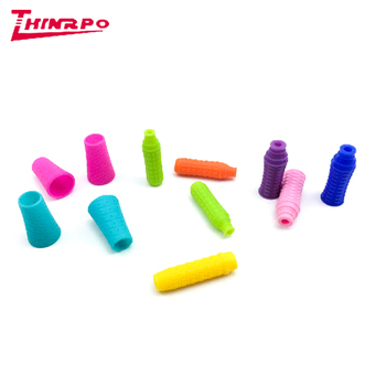 Antislip Silicone Rubber Pen Mouw Pen Loop Pen Grip Potlood Grip