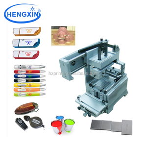 Desktop single color mouse pad printing machine