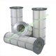 Replacement rig machine remove dust air filter cartridge