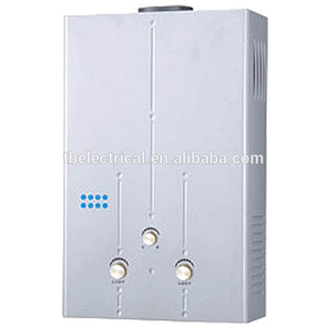 electric tankless silver hot water heater system