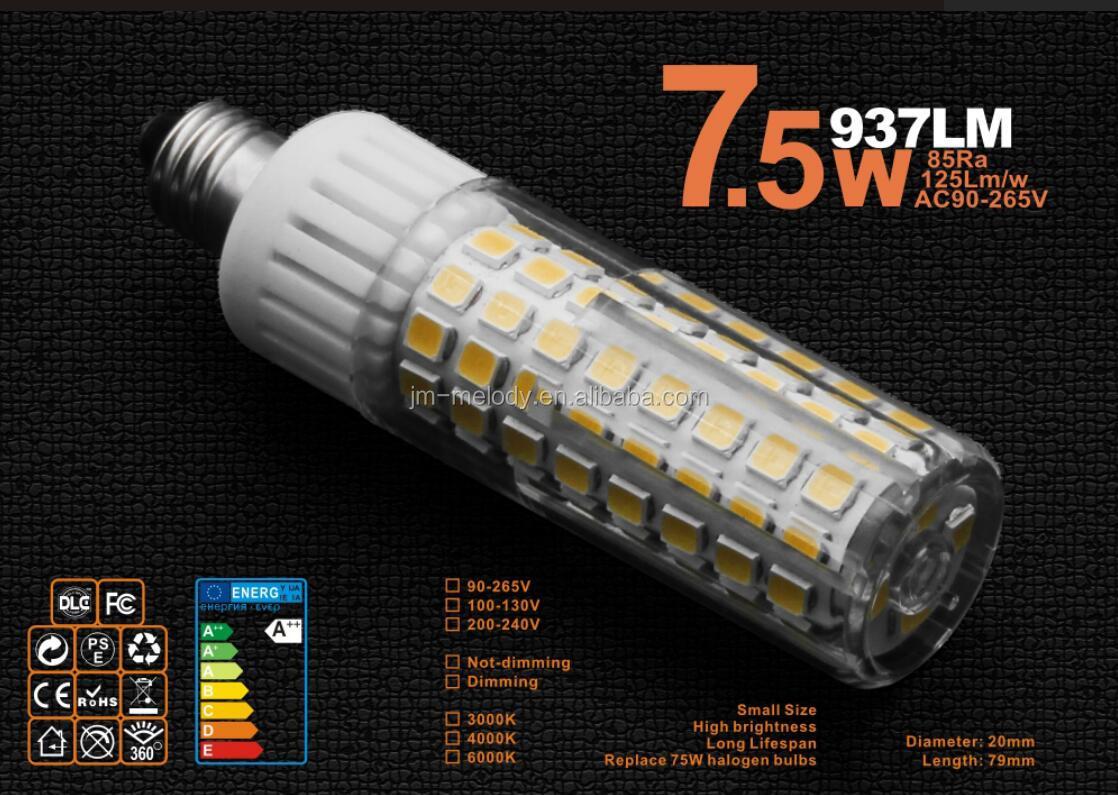 8 5w E11 E12 E14 E17 Ba15d Dimmable Led Corn Light Lamp Mini Led Corn Lamp E11 Led Mini Bulb E11 Led Lamp 110v 220v Buy 8 5w E11 E12 E14 E17 Ba15d