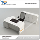 solid surface modern design white secretary office table design