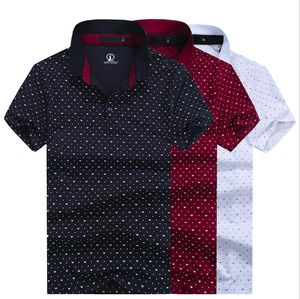 dot pattern polo t-shirt polo luggage custom design OEM