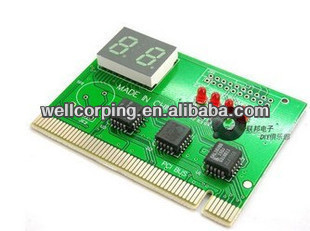 Wellcore Mini Two-digit code Display PC Troubleshooting card Motherboard test Diagnosis card