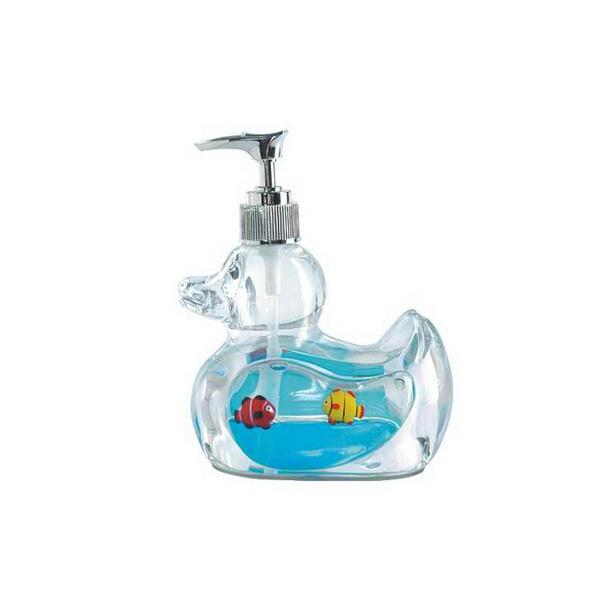 Fish shape custom 3d floater auto liquid soap dispensers for Fish soap dispenser