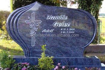 Bahama Blue Granite Headstone Tombstone Buy Blue Pearl