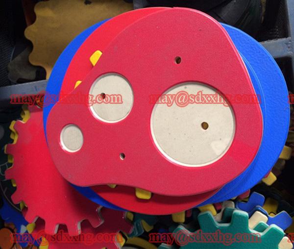Polyethylen HDPE-Kunststoffplatten mit hoher Dichte / feste, dicke Polyethylenfolie / Block