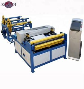 HVAC rectangular pipe forming machine