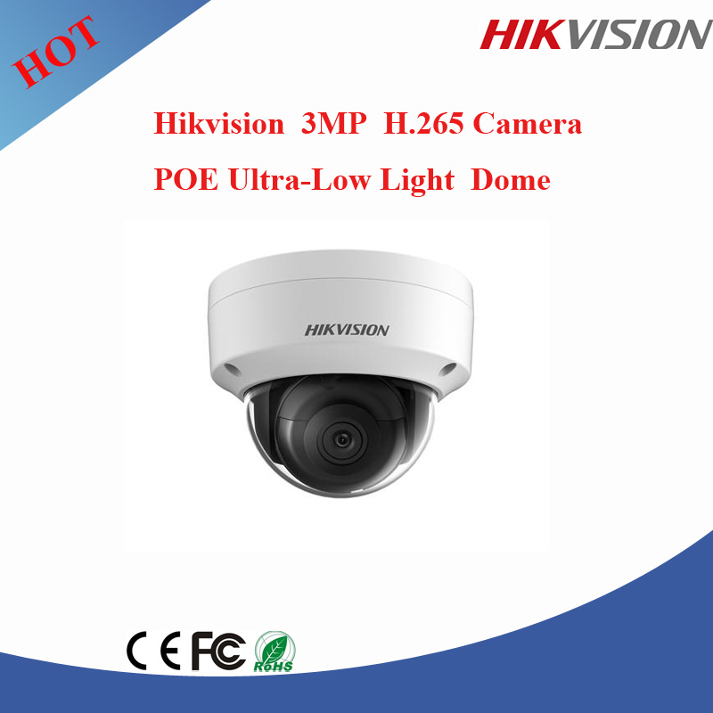 Hangzhou Hikvision dome camera ir dome ip 3mp h.265 cctv camera v380 ip camera DS-2CD2135FWD-I