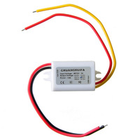 Waterproof DC 12V Step Down to 4.2V 3A 15W Power Supply Module Car Power Converter