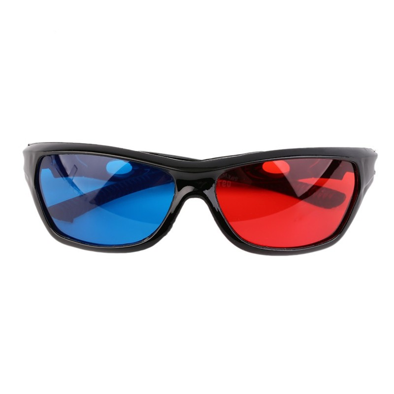 d85e53c31976 20 Pieces Fashion type 3D Glasses Red Blue Lens Virtual Reality For XGIMI  Universal Video Movie Games Anaglyph Plastic Style