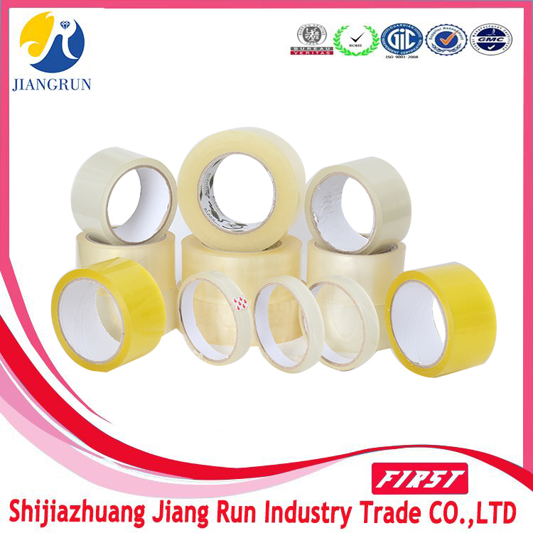 Brown OPP Tape Buff Tan Adhesive Tape Yellowish Tape