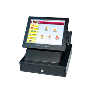 The cheapest price POS 8812 pos cash register touch machine all in one pos terminal with cash drawer